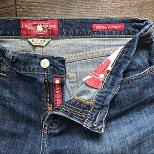Lucky Brand Sienna Tomboy 8/29 Jeans